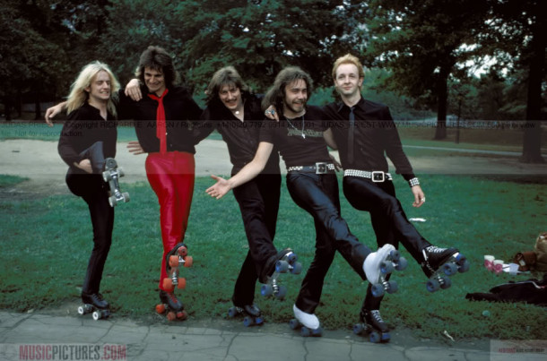 Judas-Priest-early-photograph-young-Metal-band