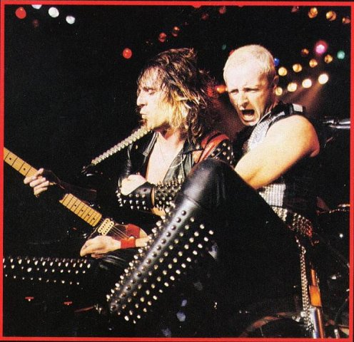 Фото группа Judas Priest и Rob Halford Glenn Tipton